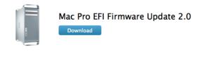 Mac Pro EFI Firmware Update 2.0