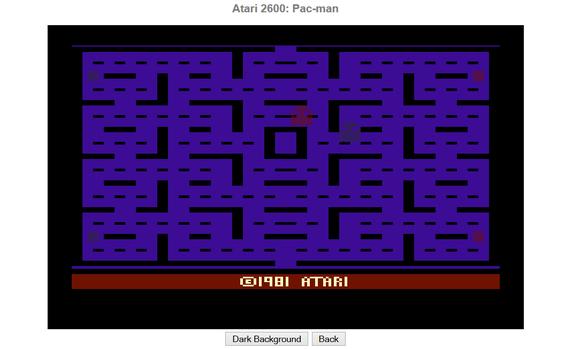 Pac-Man Atari 2600