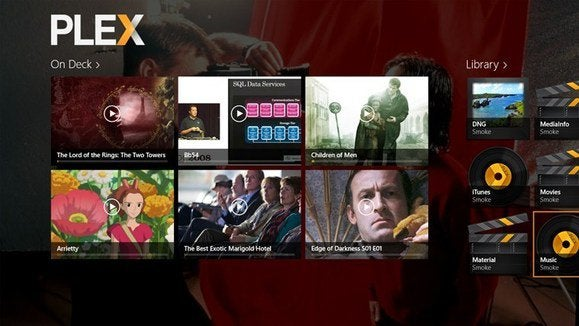 plex windows 8