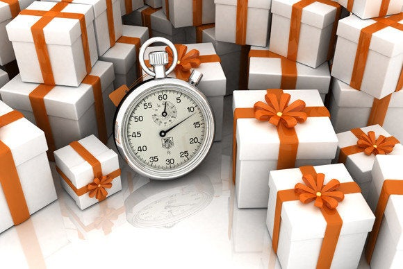 presents timer holiday