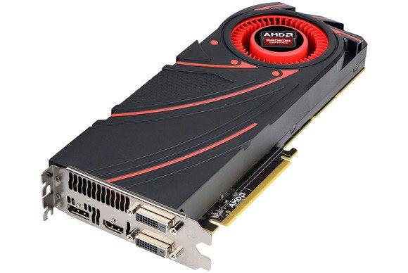 AMD Radeon R9 290x video card