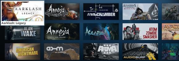 SteamOS Games List