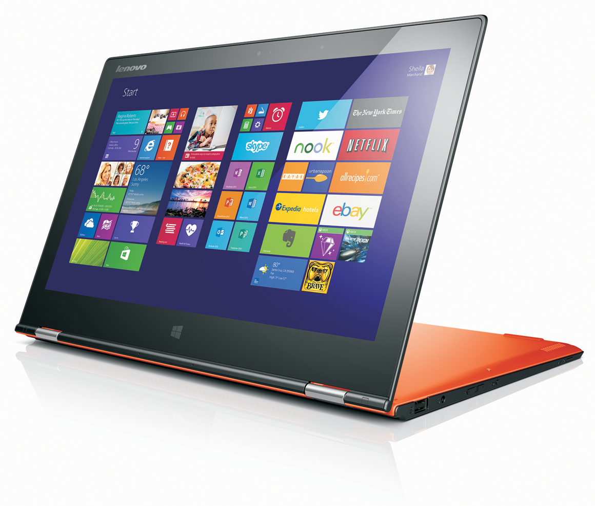 lenovo yoga 2 pro review great performance and a better than retina display pcworld. Black Bedroom Furniture Sets. Home Design Ideas