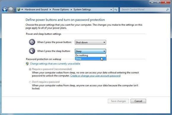0210 desktop power options