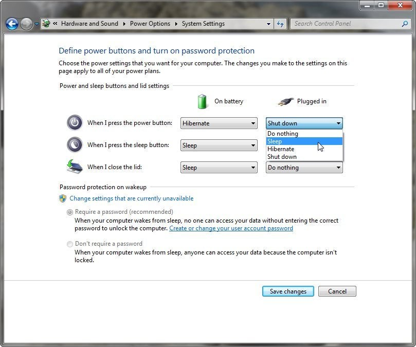 change windows 7 shortcut keys