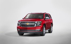 2015 chevrolet tahoe front newyorkreveal dec 2013