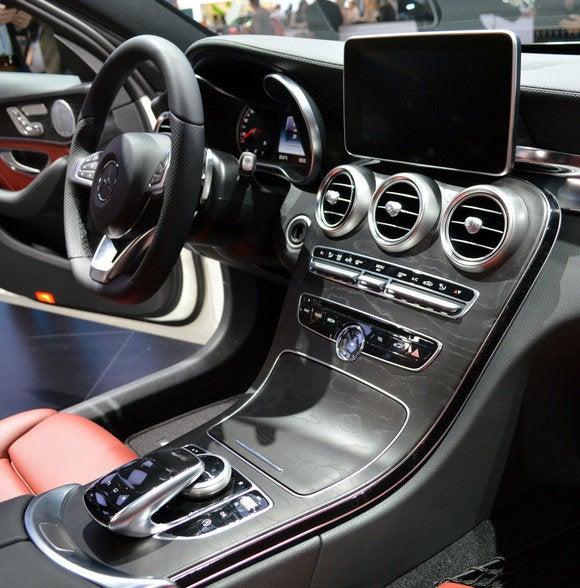 2015 mercedes c class gets semi autonomous braking distancing and parking pcworld - 2014 mercedes c class interior ...