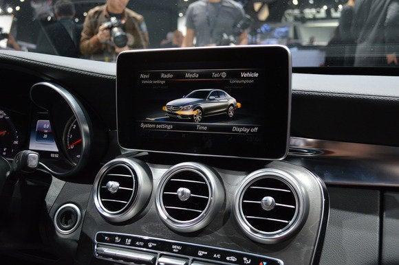 2015 mercedes mercedes benz c class interior3 naias detroit auto show jan 2014