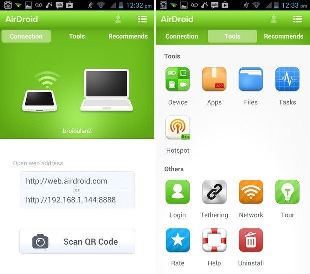 airdroid combined