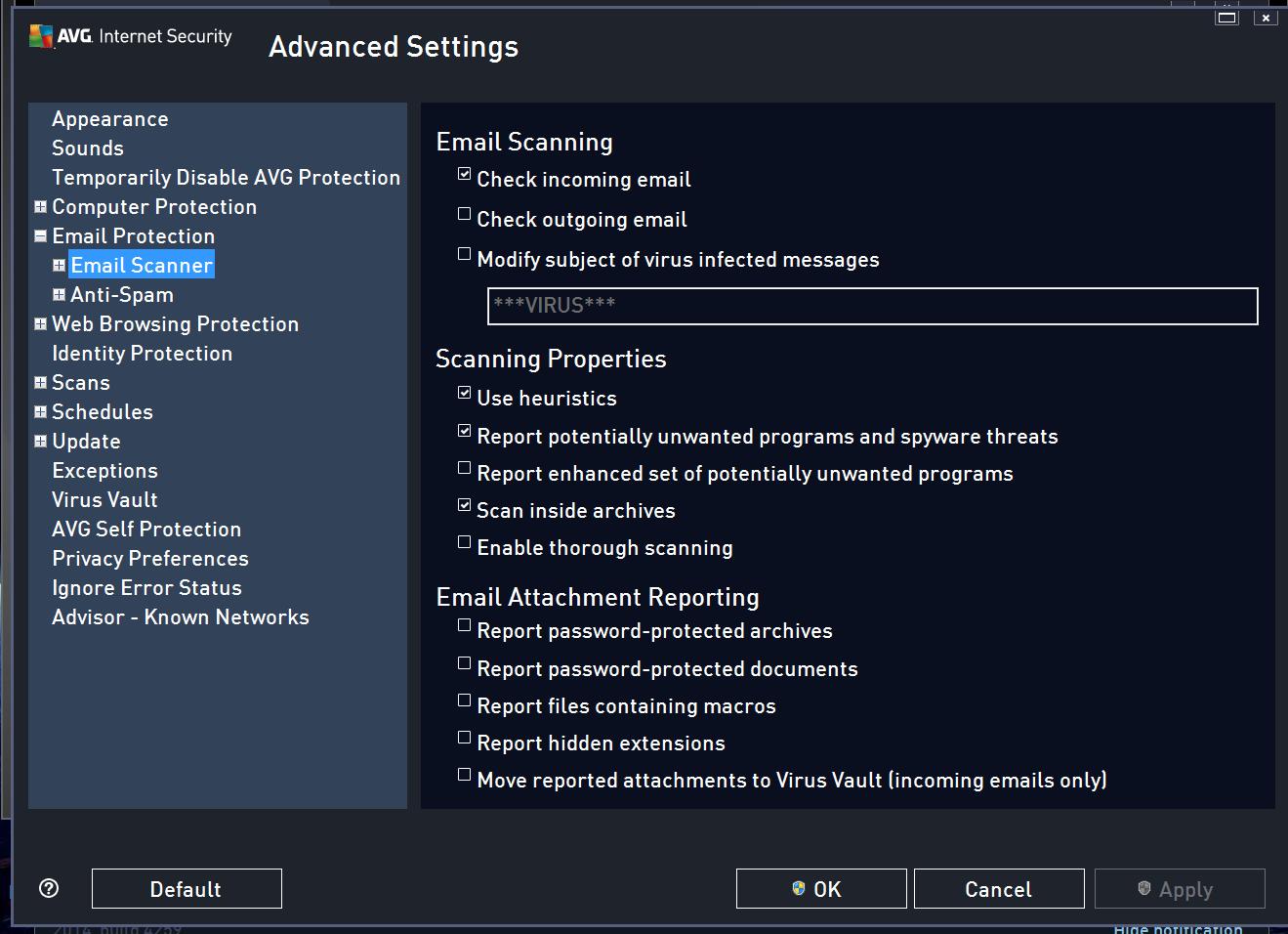 avg internet security 2014 review: a decent, lightweight antivirus