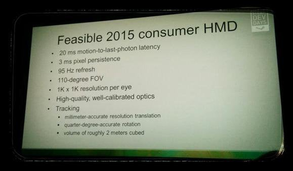 Valve VR 2015