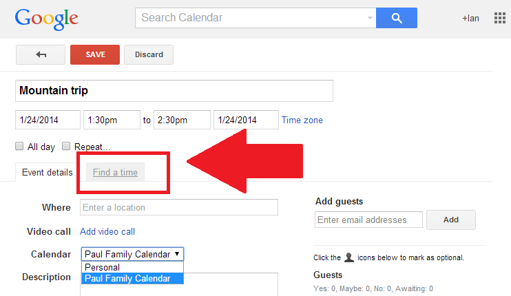 How To Use Google Calendar To Keep Groups Organized Pcworld