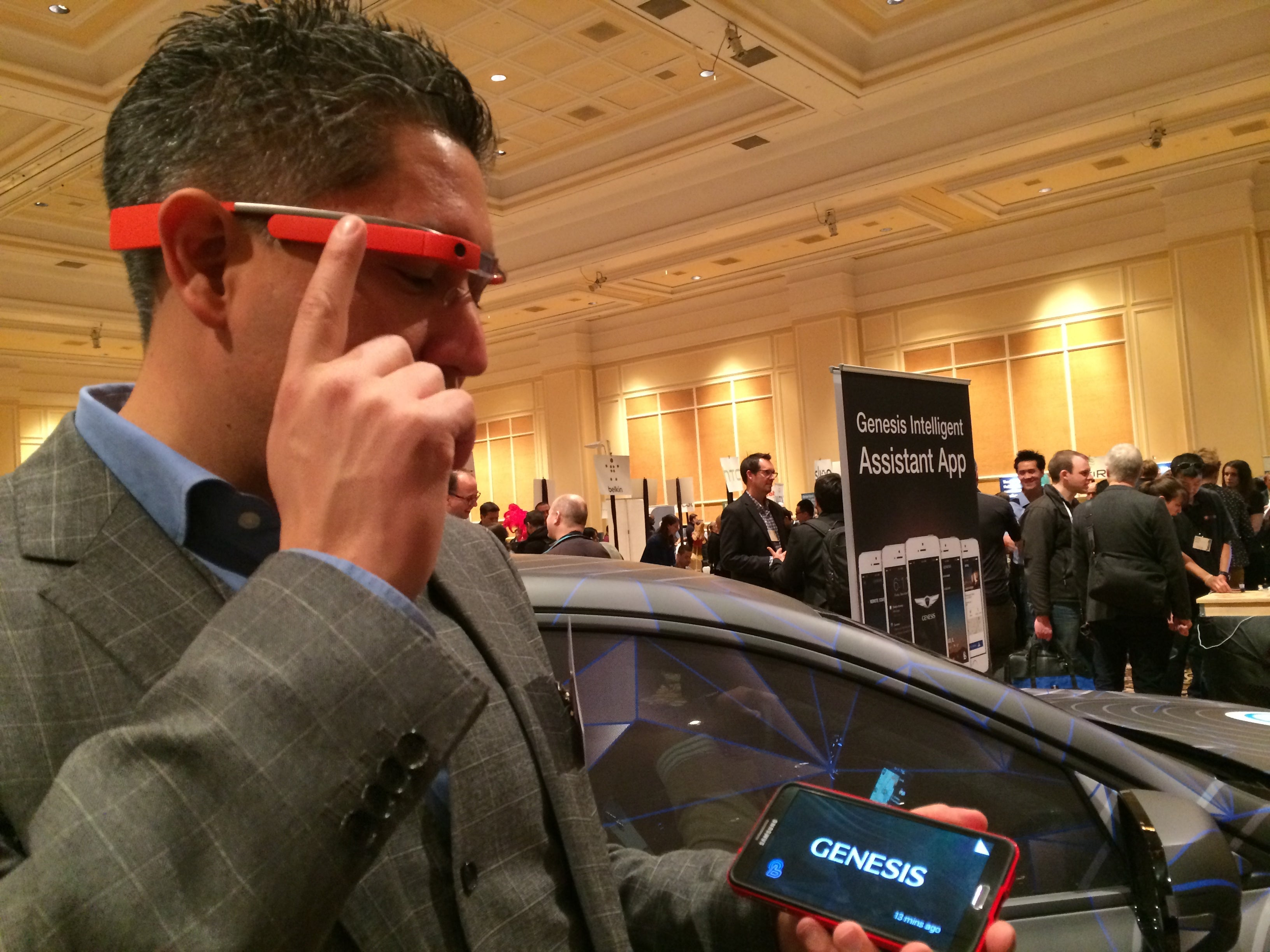 A cars a car but the cars apps make the difference at CES  PCWorld