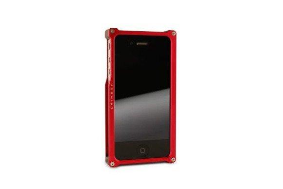 crimson aluminum iphone