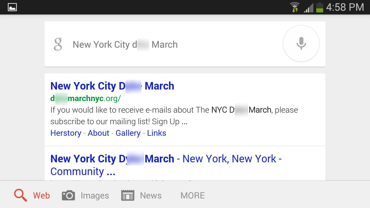 These are the filthy words Google voice search doesn't want