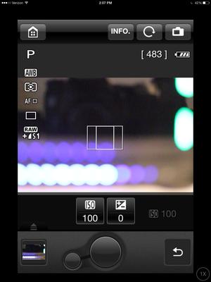 eos remote in catpure mode