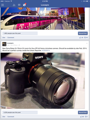 facebook reporting