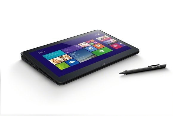 Sony VAIO Flip 11 as tablet