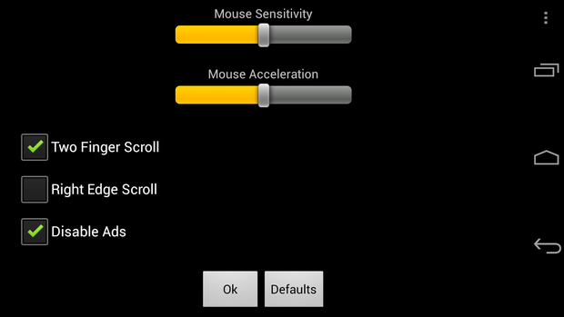 gmote mousesettings