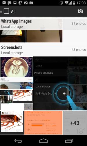 CyanogenMod GalleryNext app