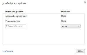 googleblockjavascript