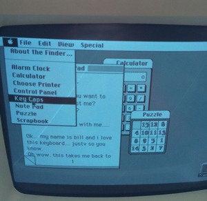 Macintosh OS on Macintosh 128K