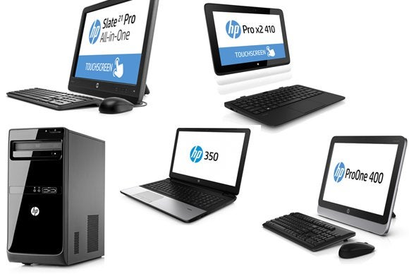 HP ships an Android all-in-one PC, plus several business
