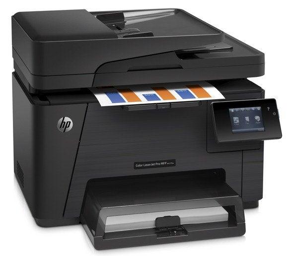 HP Color LaserJet Pro M177fw review: Great output, but ...