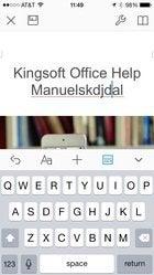 ios kingsoft office