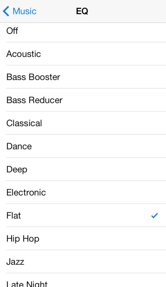 Tweak your iOS audio with EQ settings | Macworld