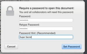 iwork icloud passwords