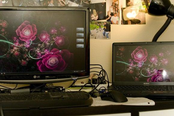laptop external monitor