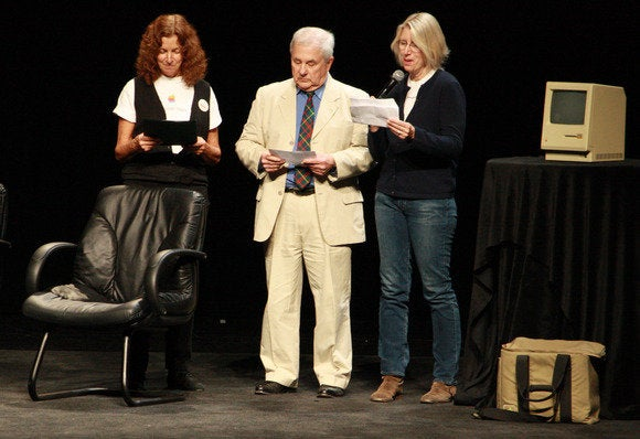 Caroline Rose, Jerry Mancock, and Patti Kenyon