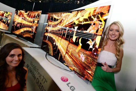 LG Flexible TV