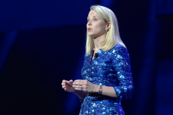 Marissa Mayer at CES 2014