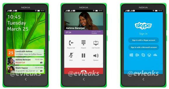 nokia android leak