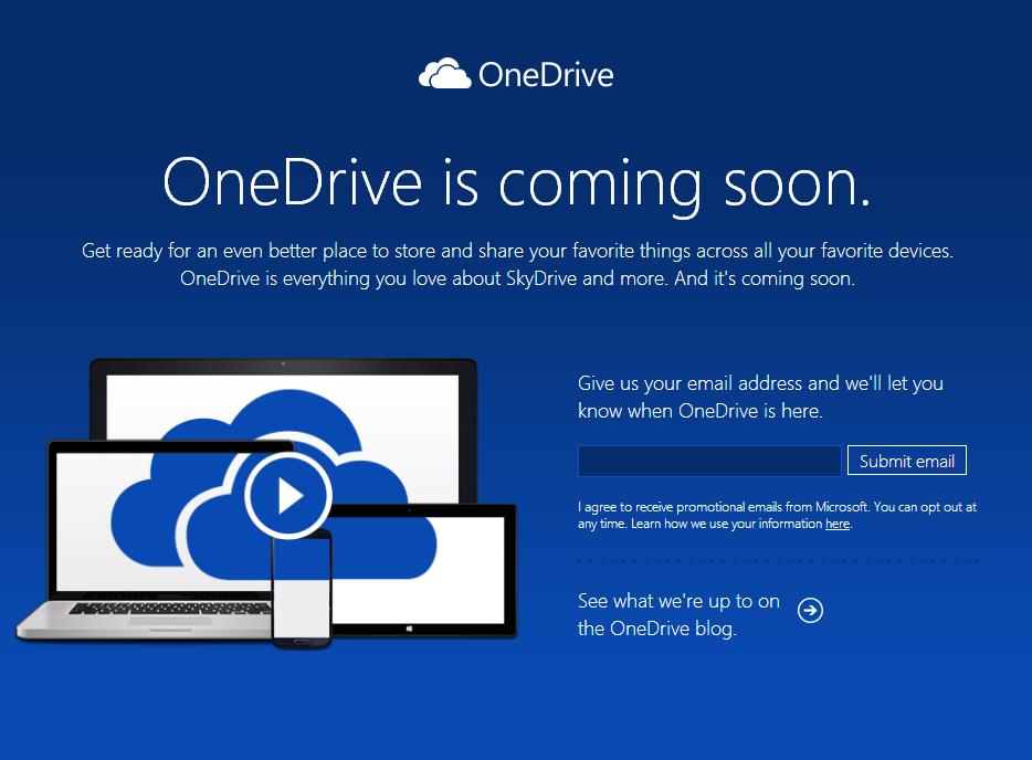 Microsoft renames SkyDrive to OneDrive | PCWorld Onedrive