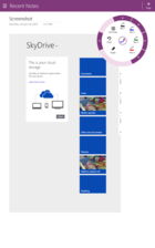 onenote win 8annotation