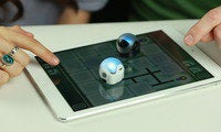 Cruise with Ozobot, a tiny robot that races across your iPad