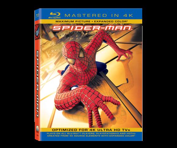 Spider-Man Mastered in 4K