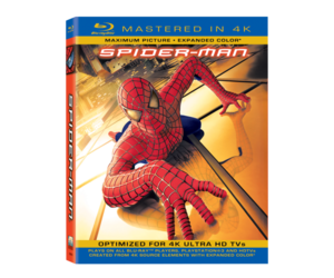 Spider-Man Mastered in 4K