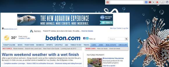 searchbar screenshot
