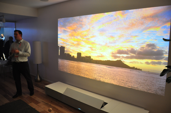 Sony Plans 4k Short Throw Laser Projector Pcworld