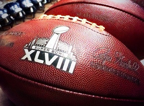 superbowl seahawks game ball