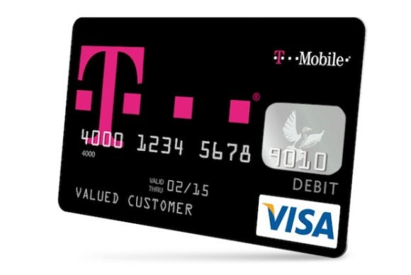 t mobile mobile money - T Mobile Visa Prepaid Card