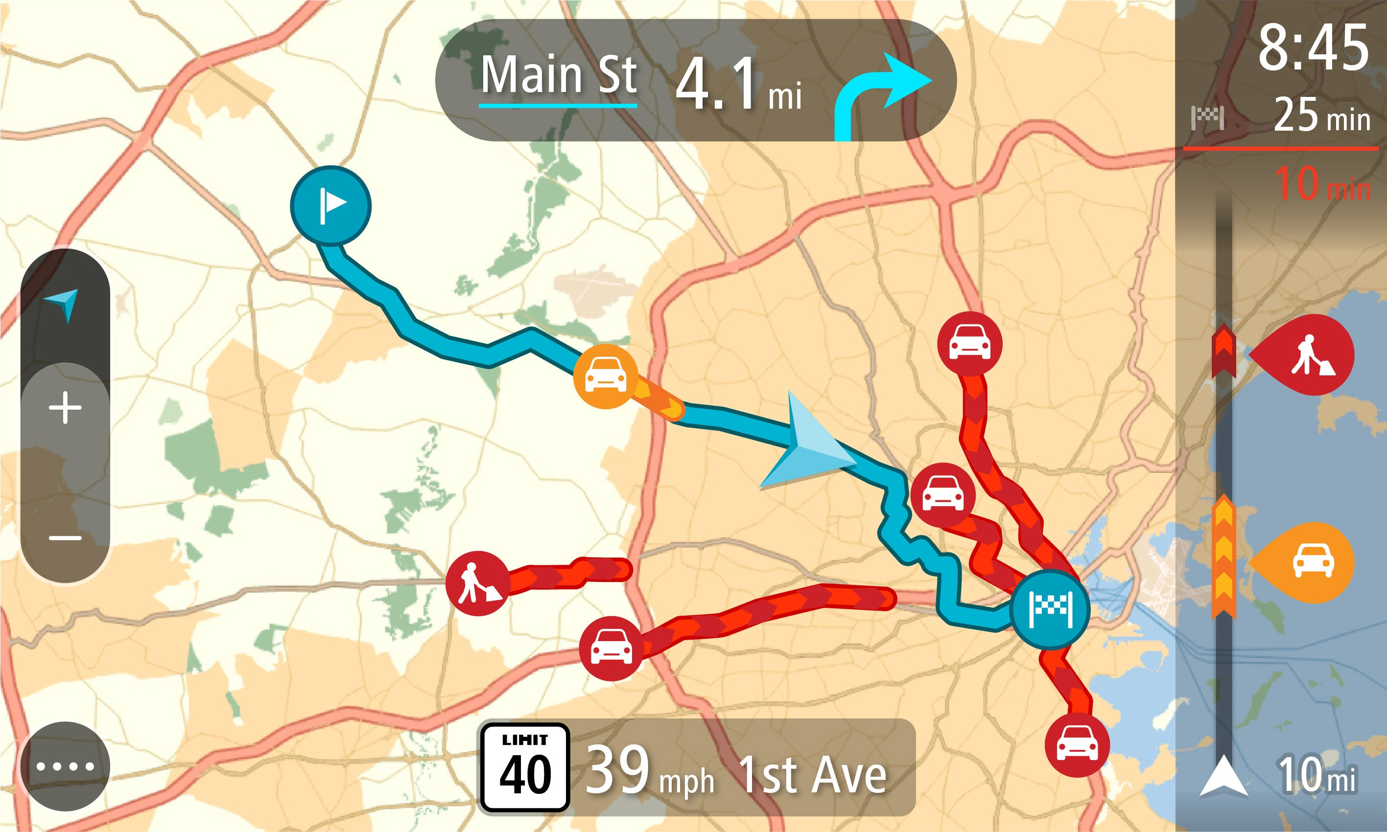 TomTom Our Traffic Data Is Better Than Yours With New GO - Us maps for tomtom