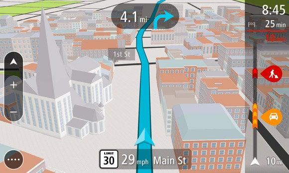 tomtom go 3d map jan 2014