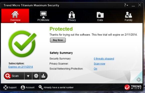 Trend Micro Titanium Maximum Security 2014 Review All In