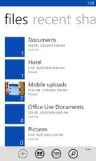 windows phone skydrive