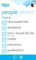 windows phone skype